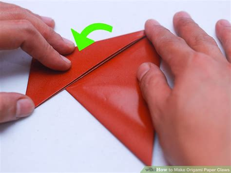 Origami Paper Claw - 3 ways to make origami paper claws wikihow