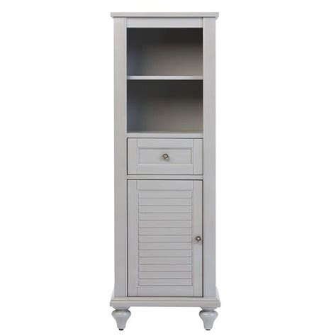 home depot linen cabinet home decorators collection hamilton 18 in w x 52 1 2 in