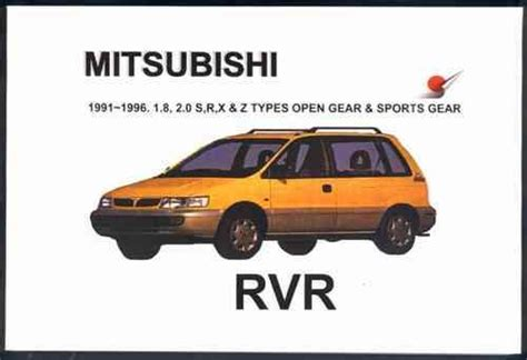 download car manuals pdf free 1995 mitsubishi rvr instrument cluster how to remove a 1993 mitsubishi rvr engine and transmission 1994 mitsubishi rvr pictures