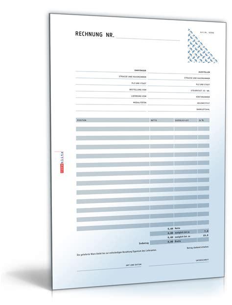 Vorlage Netto Rechnung Rechnung Netto Mit 220 Berweisungstr 228 Ger Zahlschein