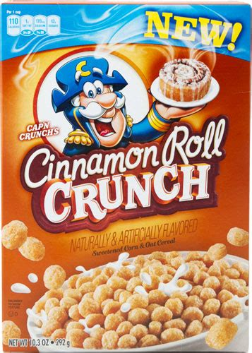 captain cinnamon you tried cinnamon roll crunch the new cap n crunch