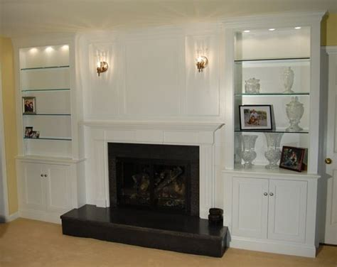 Fireplace Millwork by Fireplace Wall Millwork