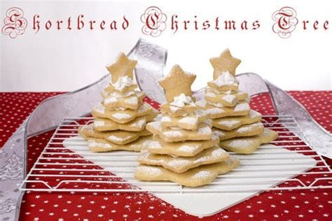 shortbread christmas tree gourmet getaways