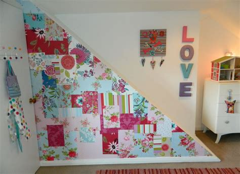 wallpaper for craft room 17 best images about patchwork wallpaper walls on