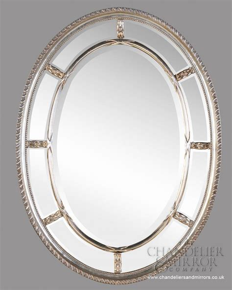 silver oval mirrors bathroom wall mirrors decoration designs guide