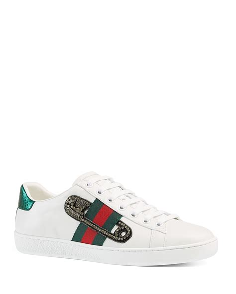 Gucci Gift Card Balance - gucci new ace safety pin lace up low top sneakers bloomingdale s