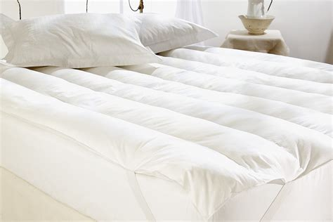 down bed topper royal comfort goose feather down mattress topper queen