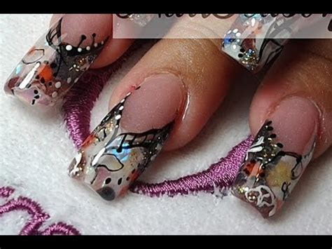 acrylic paint nail beginners diy acrylic nails step by step nail tutorial for