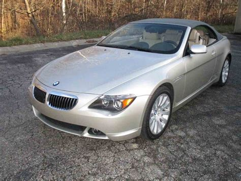 645 Bmw For Sale by 2004 Bmw 645ci For Sale Classiccars Cc 1051582