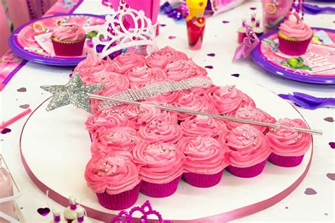 princess dress cupcake cake party delights blog