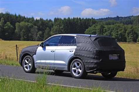 Volkswagen Touareg 2018 by 2018 Volkswagen Touareg Spied In Production Ready Form
