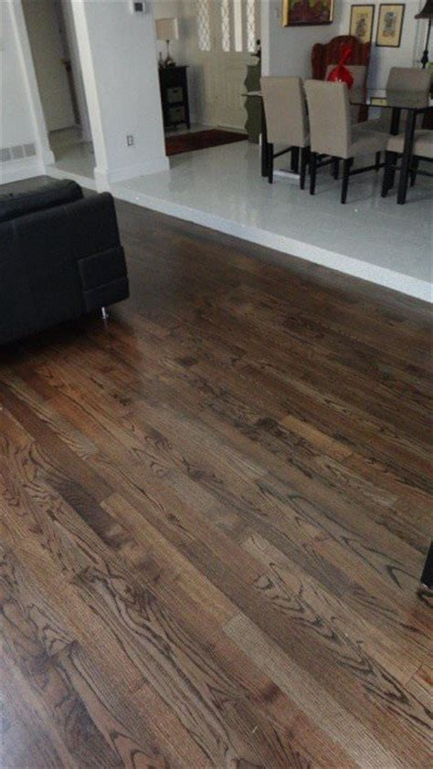 custom solid hardwood flooring nail down finished in place dallas flooring warehouse