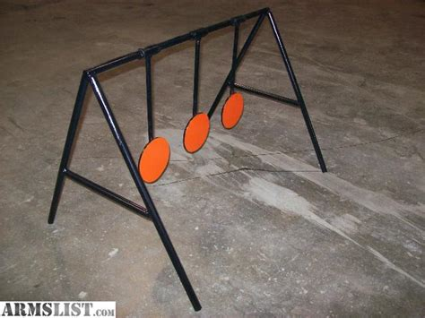 swinging targets armslist for sale trade 5 quot triple swinging target