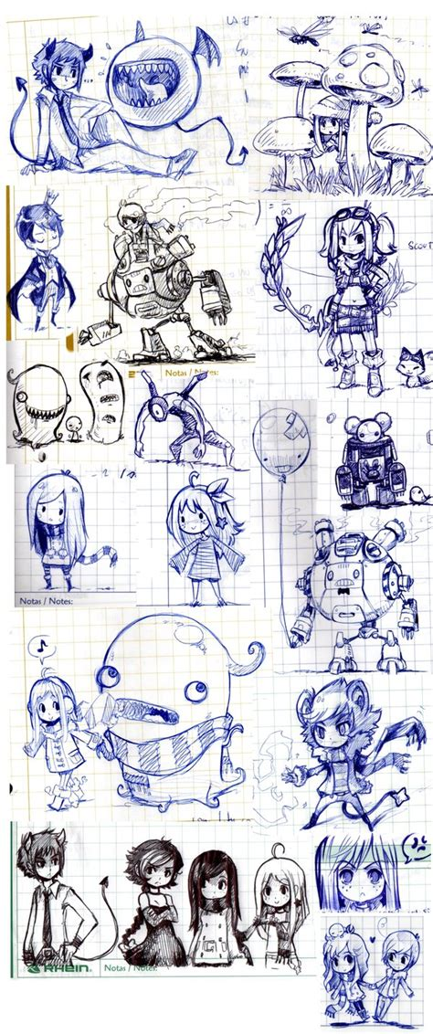 doodle notebook notebook doodles sketch dump by parororo on deviantart