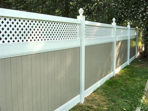recinzioni da giardino in pvc recinzioni in pvc recinzioni tipologie di recinzioni