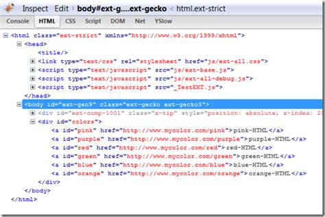 div html tag basic domhelper with extjs library creating simple div