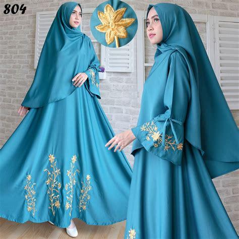 Baju Muslim Gamis Syari Modern Yara Tosca gamis syari baloteli bordir 804 syar i baju muslim modern