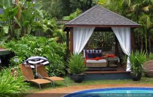 tropische aziatische bali tuin tropical asian
