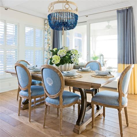 coastal living dining room 15 ways to decorate with pantone s 2016 colors of the year