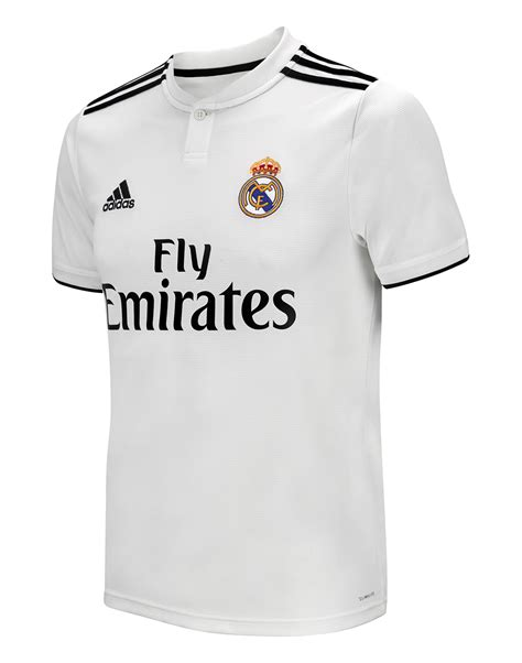 Jersey Go Real Madrid real madrid 18 19 home jersey adidas style sports