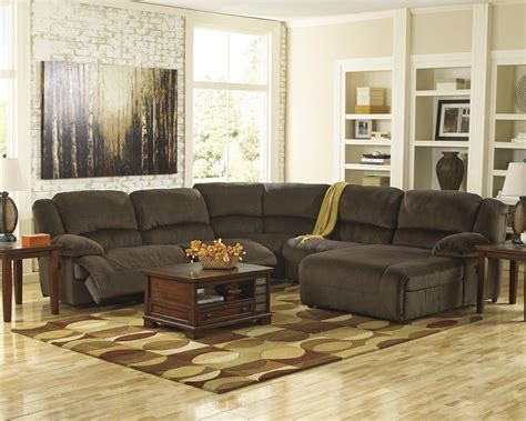 power reclining sectional sofa with chaise power reclining sectional with right press back chaise by