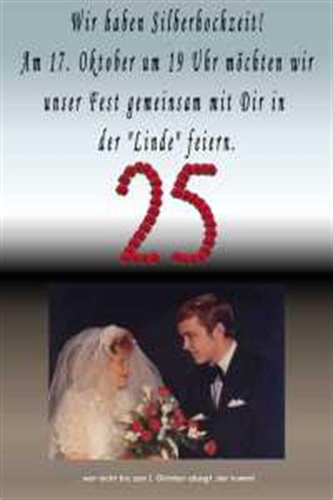 Hochzeitseinladung Unterschreiben by Silberhochzeit Einladungskarten Karten Einladungen Als