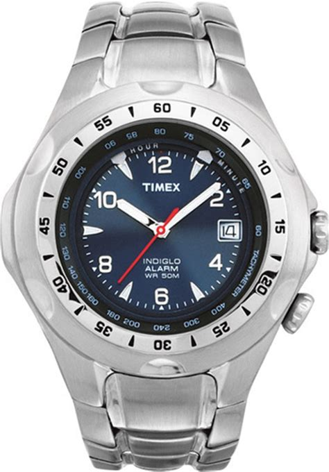 Steel Blue List Silver timex s s and unisex watches