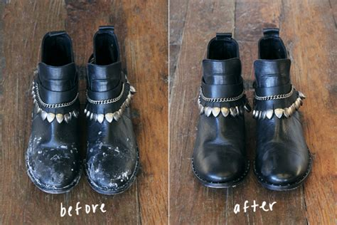 Remove Stains From Leather by Trick Remove Salt Stains From Leather Boots