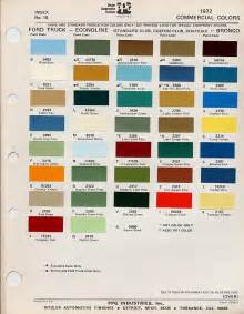 ford color codes decoding your 1972 ford truck vin fordification