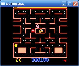 Ms PacMan Remake!   portable arcade games