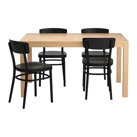 Ikea Dining Table With 4 Chairs Bjursta Idolf Table And 4 Chairs Ikea