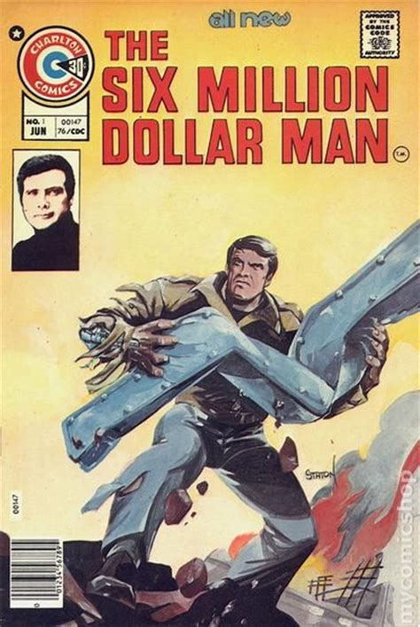 the million dollar books six million dollar 1976 comic comic books