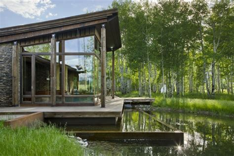 Sustainable House By The Pond Beautiful Lake House 4 Home Design Garden