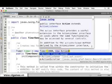 javax swing java swing timer demo