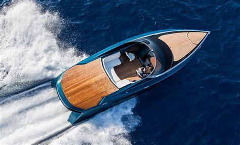 aston martin boat aston martin powerboat revealed in monaco
