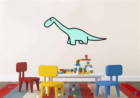 childrens wall stickers uk dinosaur 10 childrens printed wall sticker