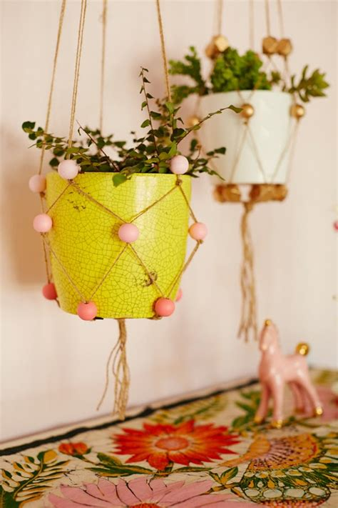 How To Make Plant Hangers - 24 ways to hang plants on the wall andrea s notebook