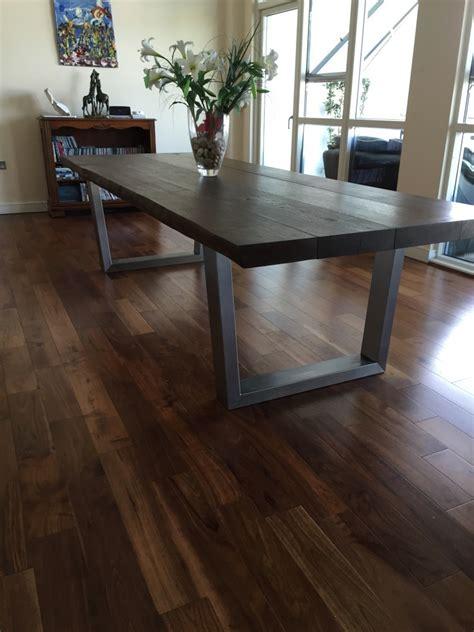 Oak Dining Table Uk Large Oak Dining Table Tarzantables Co Uk