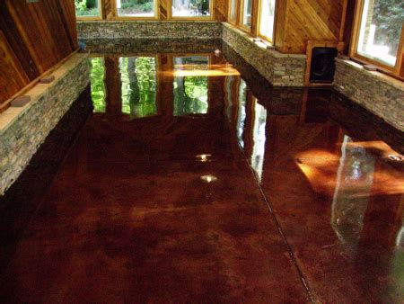 Acid Stained Concrete Contractors, leaders in Greater