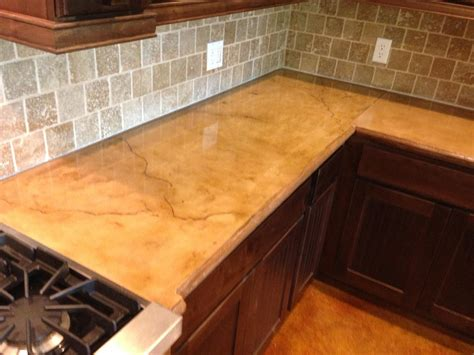 cement countertops concrete installer discovers concrete countertops