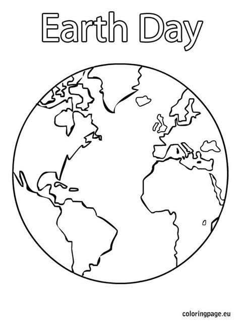 earth day coloring page 2016 25 best ideas about earth coloring pages on pinterest