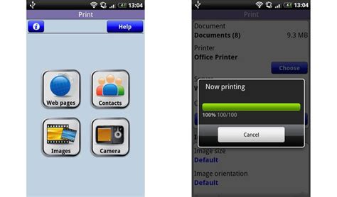 printer apps for android top 5 mobile printing apps for android