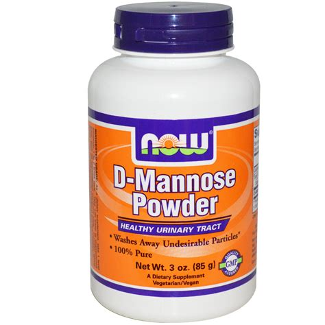 supplement d mannose now foods d mannose powder 3 oz 85 g iherb