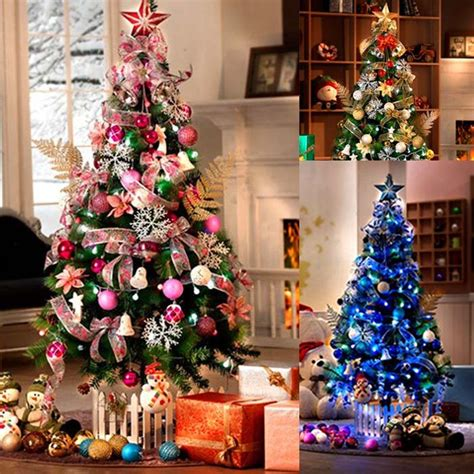 top quality christmas tree decorate ornament set discount