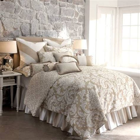 taupe bedding sets taupe and white cotton king bedding home