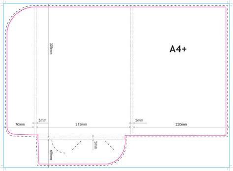 Presentation Folders A4 350gsm Silk Online Printing A4 Presentation Folder Template