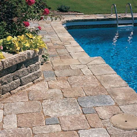benefits of a paver patio pool deck 171 landscaping design