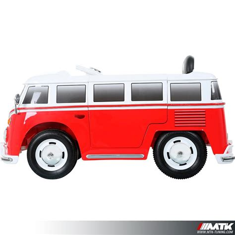 voiture pour 3 si鑒es auto voiture 233 lectrique pour enfant vw combi 12 volts