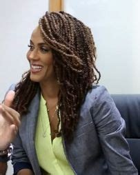 nicole ari parker braided hairstyles nicole ari parker photos photos addicted premieres in