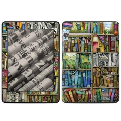 kindle voyage skin bookshelf by colin thompson